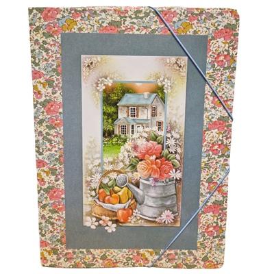 Country House Gummibandsmapp 3-Klaff A4, 7320431521855