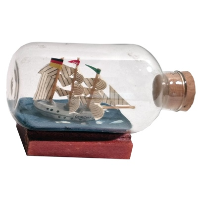 Flaskskepp 7 cm 1 st, 754001947