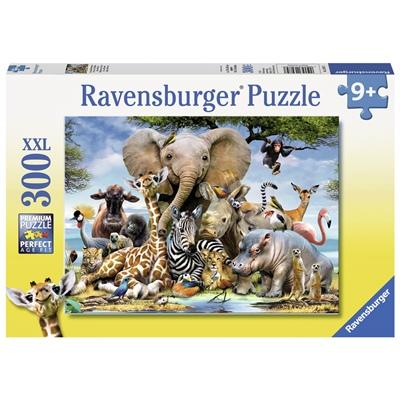Ravensburger Pussel 300 XXL Bitar African Friends, 130757