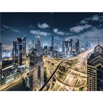 Ravensburger Pussel 2000 Bitar View of Dubai, 150175