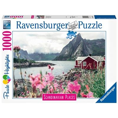 Ravensburger Pussel 1000 Bitar Reine Lofoten Norway, 167401