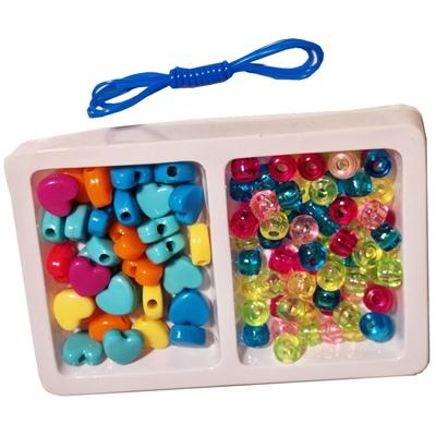 Cosmetic Set - Pärlset med Plastpärlor, GG0919-626