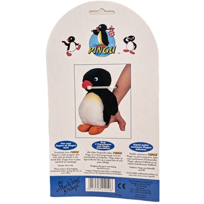 Pingu Fingerdocka 16 cm, 410106