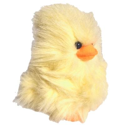 Mjukis Kyckling Fluffig Gul 18 cm, 45030