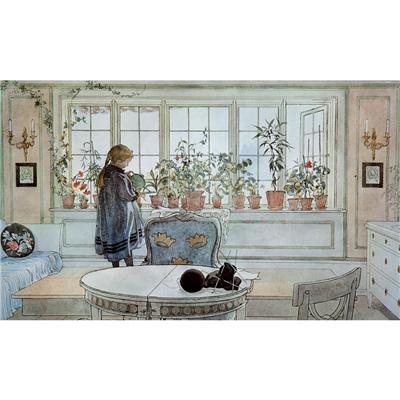 Kärnan Pussel 1000 Bitar Carl Larsson - Blomsterfönstret, 580065