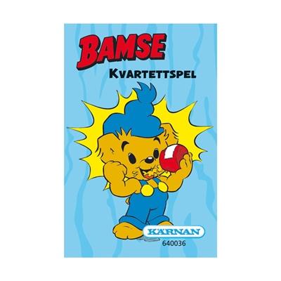 Kärnan Kvartettspel Bamse, 640036