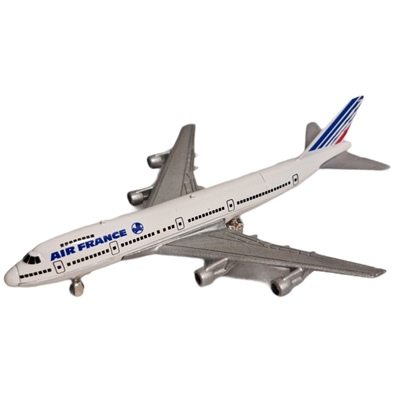 ERTL Jet Tran Flygplan Boeing 747 Air France, 2381E