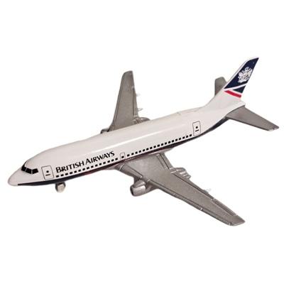 ERTL Jet Tran Flygplan Boeing 737 British Airways, 2380