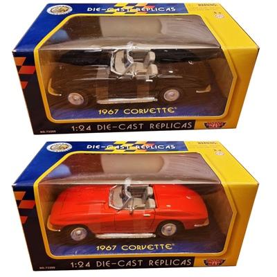 Motor Max Die-Cast Replicas Chevrolet Corvette 1967 1:24, 73224