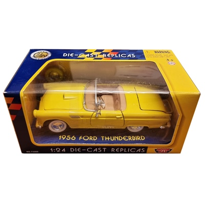 Motor Max Die-Cast Replicas Ford Thunderbird 1956 1:24, 73215