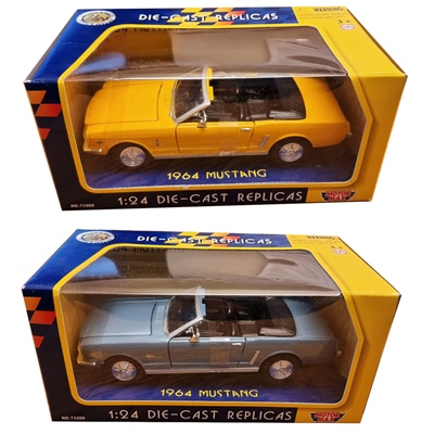Motor Max Die-Cast Replicas Ford Mustang Cabriolet 1964 1:24, 73212
