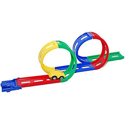 Bilbana i Plast med 2 Loopar - Mini, 7320342815111