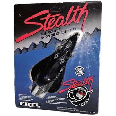 ERTL F-19 Stealth Fighter Die-Cast Metal, 1164