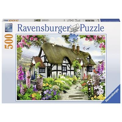 Ravensburger Pussel 500 Bitar Thatched Cottage, 147090