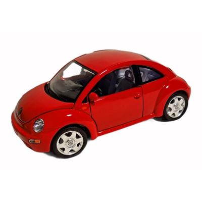 Bburago Volkswagen New Beetle -98 1:18 Röd, 3342