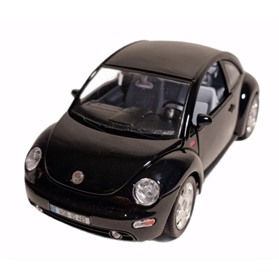 Bburago Volkswagen New Beetle -98 1:18 Svart, 3347