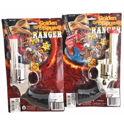 Golden Spur Ranger 8-skottspistol i Plast 1st, 59030