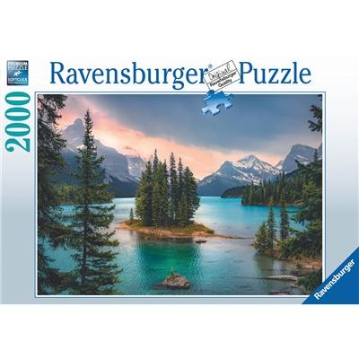 Ravensburger Pussel 2000 Bitar Spirit Island Canada, 167142