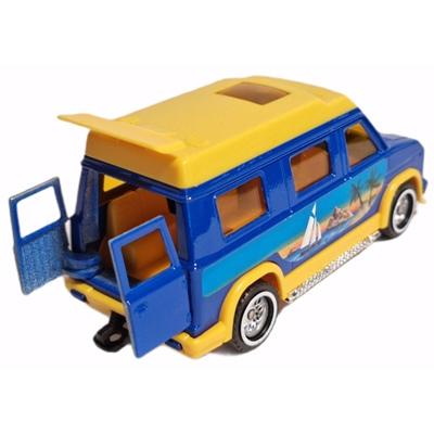 Majorette Super Movers Van Holidays 13 cm, 03440030H