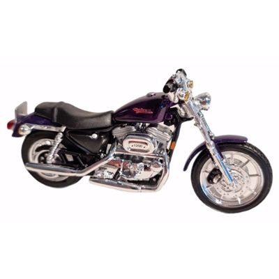 Maisto Harley Davidson 2000 Sportster 1200 Custom 1:18, 31360-1