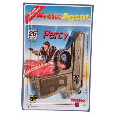 Wicke Percy 25-Skottspistol i Plast, 0480WE