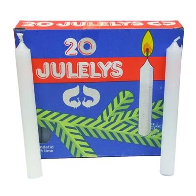 Julgransljus Vita 20-Pack, 438778