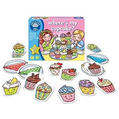 Orchard Toys Where´s my Cupcake?, 013OR