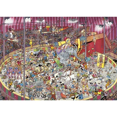 Jan van Haasteren Pussel 1000 Bitar The Circus, 01470