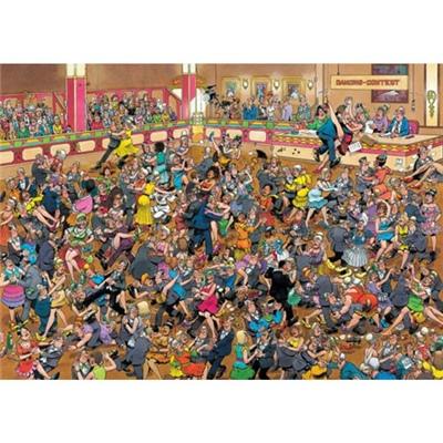 Jan van Haasteren Pussel 1000 Bitar Ballroom Dancing, 01617