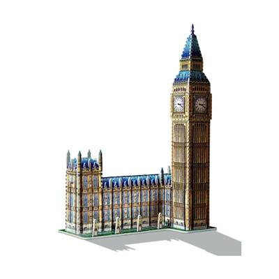 Wrebbit 3D Pussel 890 Bitar Big Ben, 02002