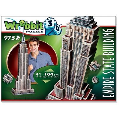 Wrebbit 3D Pussel 975 Bitar Empire State Building, 02007