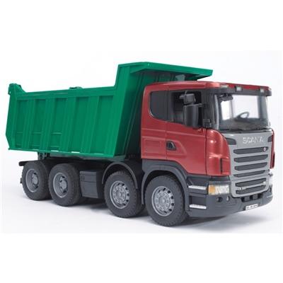 Bruder Scania Lastbil med Tippflak 1:16, 03550
