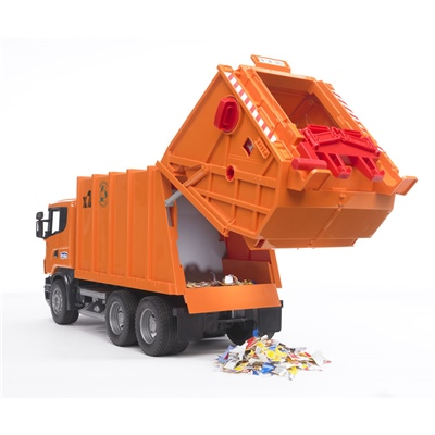 Bruder Scania Sopbil Orange 1:16, 03560