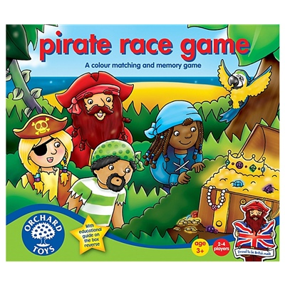 Orchard Toys Pirate Race Game, 048OR