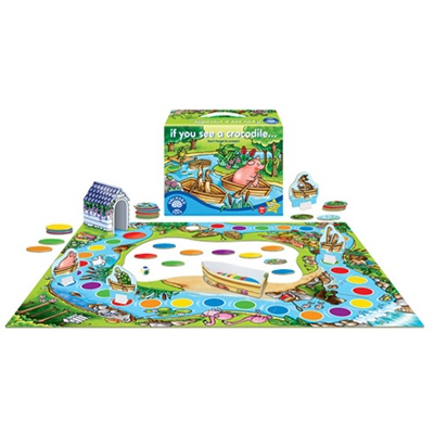 Orchard Toys Om du ser en Krokodil, 073F