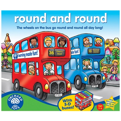 Orchard Toys Round and Round, 074O
