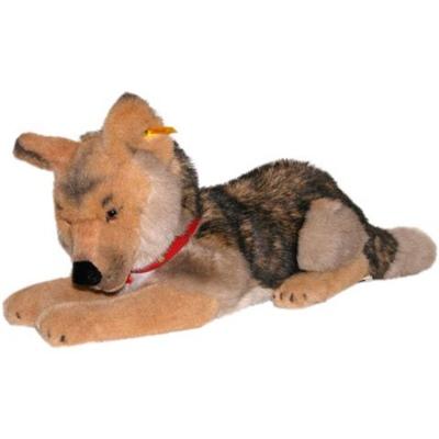 Steiff Hund Liggande Hasso, 078965