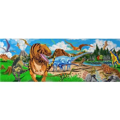 Melissa & Doug Golvpussel 48 Bitar Land of Dinosaurs, 10442