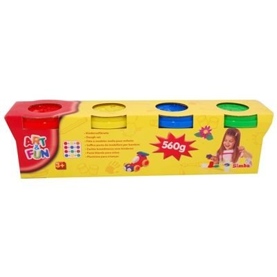 Simba Art & Fun Leklera 4-pack, 106320642