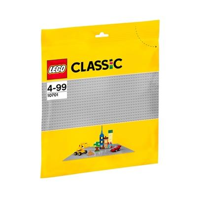 LEGO Classic Grå Basplatta, 10701