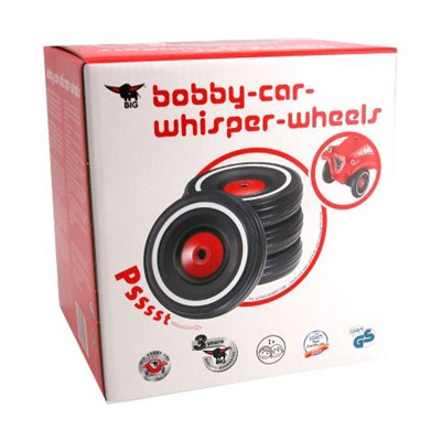 BIG Bobby Car Whisper Wheels, 1260BI