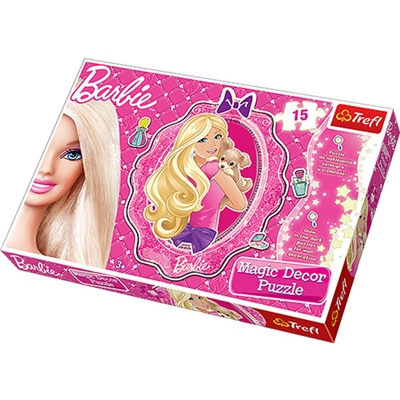 Trefl Pussel 15 Bitar Magic Decor Barbie, 14604
