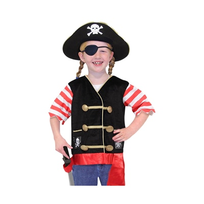 Melissa & Doug Maskeradkläder Pirat, 14848