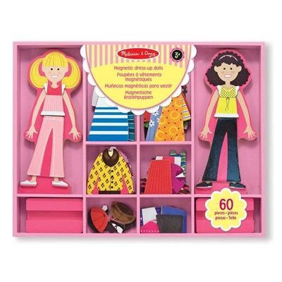 Melissa & Doug Abby & Emma Magnetic Dress-up Dolls, 14940