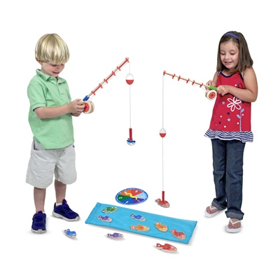 Melissa & Doug Catch & Count Fishing Game, 15149