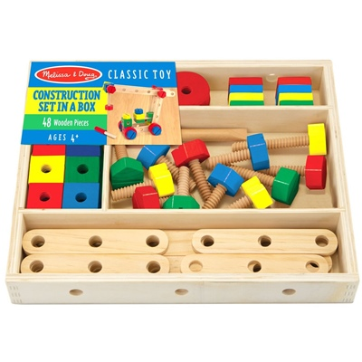 Melissa & Doug Construction Building Set in a Box, 15151