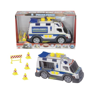 Dickie Toys Police Force Silver 32 cm, 203318347