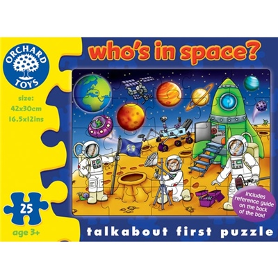 Orchard Toys Pussel 25 Bitar Who´s in Space?, 221OR
