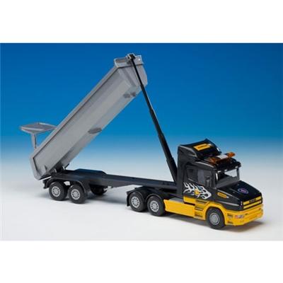 Emek Scania Tipplastbil Semitrailer 1:25, 22523EM