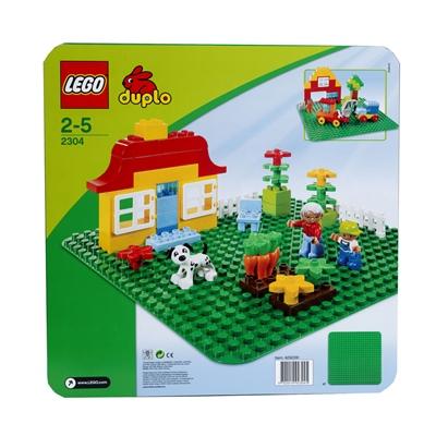 LEGO Duplo Stor Grön Byggplatta, 2304L